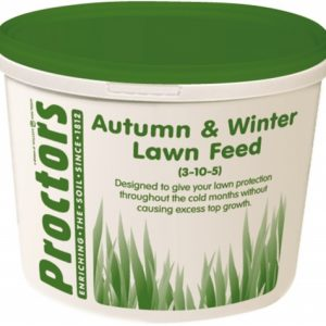 5kg tub of Autumn and Winter Lawn Grass Feed