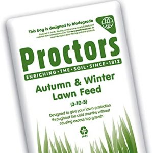20Kg sack of Autumn and Winter Lawn Grass Feed