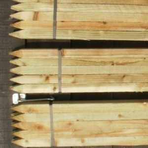 1.2m (4ft) x 32mm Square Stakes – Pack of 10