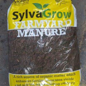 50 Litre sacks of Melcourt Sylvagrow RHS endorsed Farmyard Manure