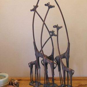 Giraffe Family Ornament – 71 cm tall