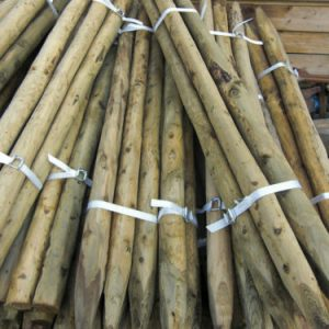 1.8m (6ft) x 50mm – 75mm Cundy Rustic Round Posts