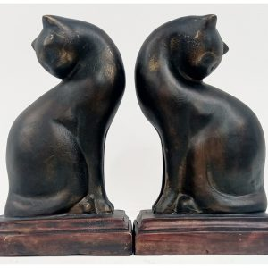 Stylish Cat Bookends/Book Ends